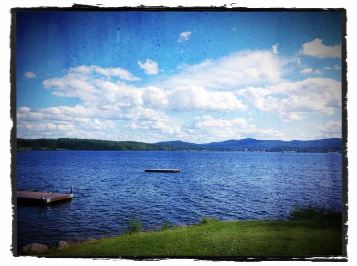 Lake Grängen, Viksjöfors, Hälsingland. One day in juli. Photo taken by Ingela Claesson