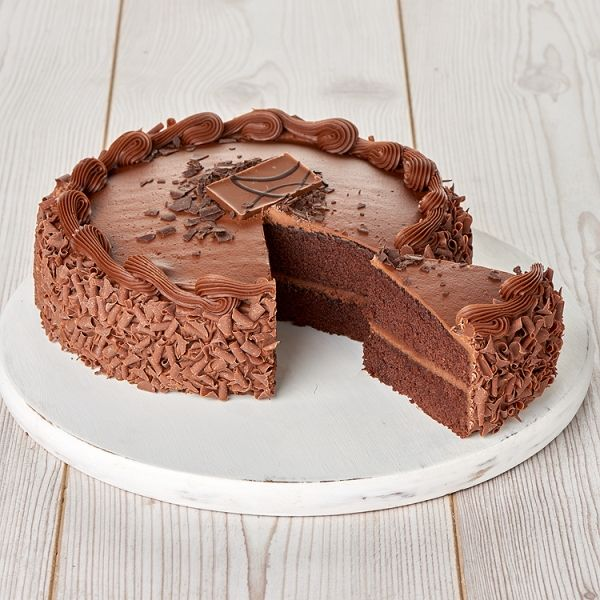 Large Seriously Chocolate Cake 128kg Serves 20