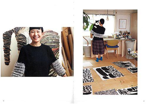 三國万里子作品集『うれしいセーター』 - ほぼ日刊イトイ新聞