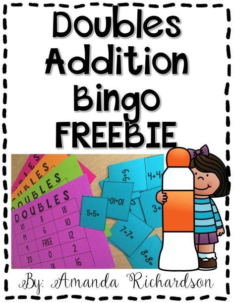 Doubles Addition Bingo FREEBIE