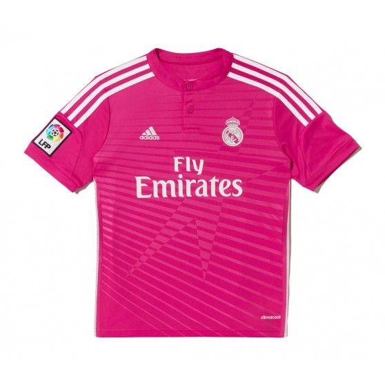 Het @adidas Real Madrid #uitshirt junior is een opvallend shirt voor de jonge voetballiefhebber. Aan de voorkant is in het patroon van het shirt een ster verwerkt. #dws