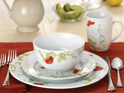 Paula Deen Poppy Valley 16-pc. Dinnerware Set & 21 best Paula Deen Dinnerware images on Pinterest | Paula deen Desk ...