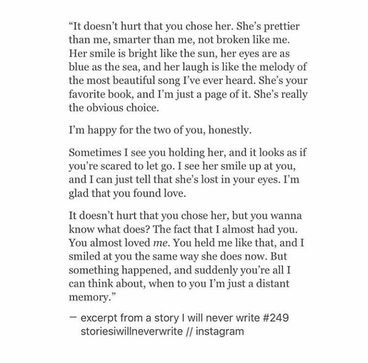 Short Sweet I Love You Quotes: Excerpt From A Story I Will Never Write #249