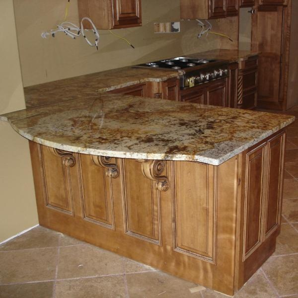 71 best granite countertops images on pinterest granite for Granite overhang without support