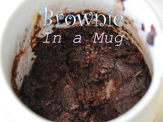Microonde Brownie in una Tazza - Hot Hits cioccolato