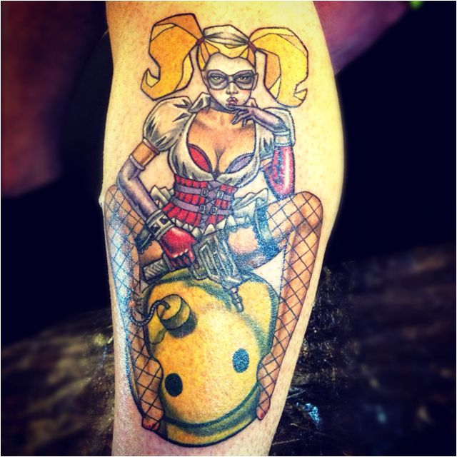 26 best images about harley quinn tattoo ideas on for Laser tattoo removal madison wi