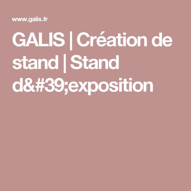 GALIS | Création de stand | Stand d'exposition