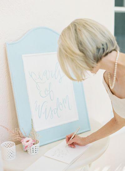 pearls of wisdom | Jessica Lorren #wedding