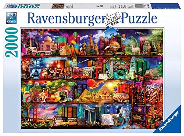 Ravensburger Puzzle New Puzzle Books Jigsaw Puzzle 2000 Pieces Adult Puzzles Art #Ravensburger