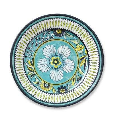 La Med Melamine Dinner Plates Set of 4 #williamssonoma  sc 1 st  Pinterest & 99 best Melamine For Dining images on Pinterest | Melamine ...