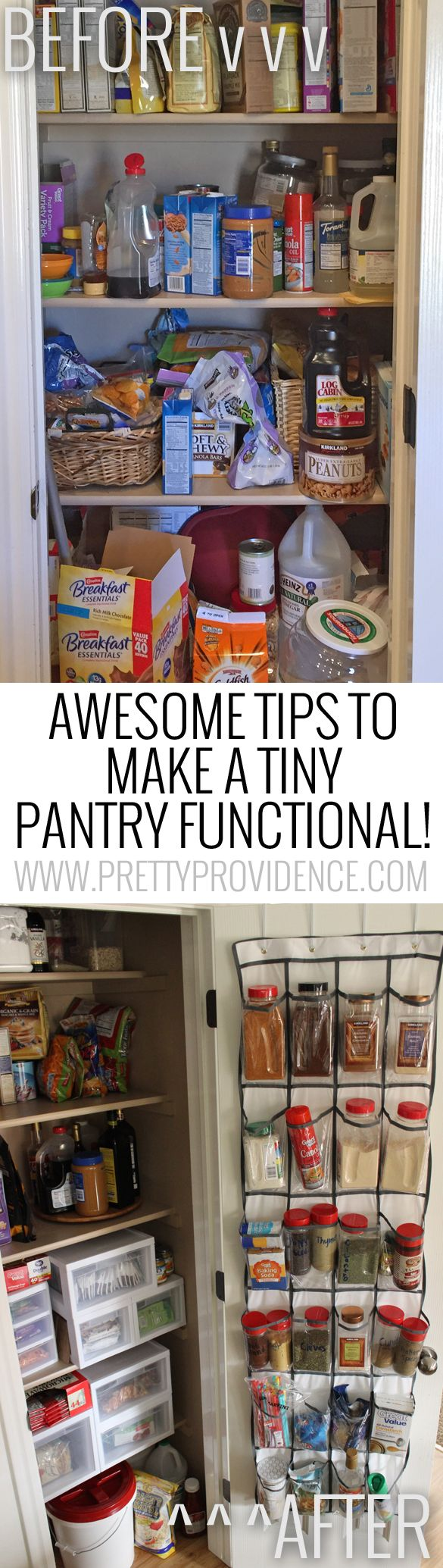awesome tips and tricks for small pantry organization - Pantry Ideas For Small Kitchens