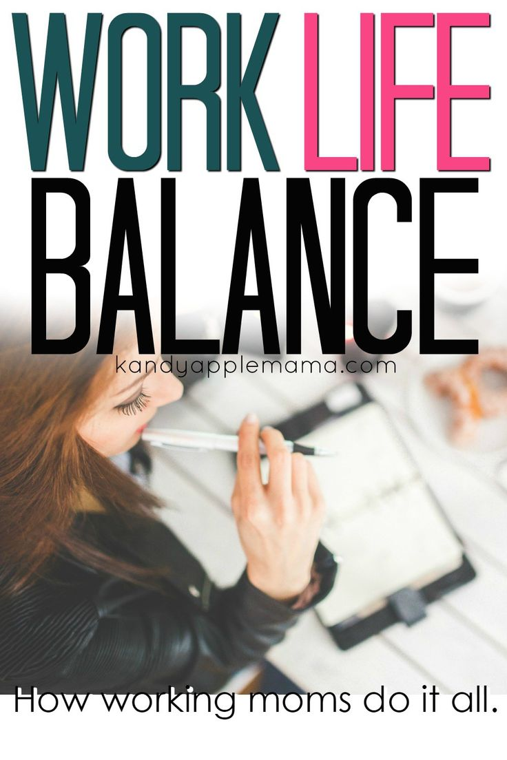 How working moms do it all - work life balance