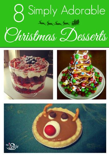 25 best ideas about cute christmas desserts on pinterest for Some good christmas treats to make