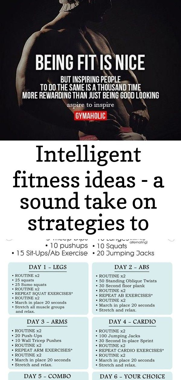 Intelligent Fitness Ideas A Sound Take On Strategies To Erase 10 Pounds Healthy Example Number 4