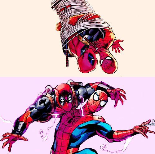 Deadpool And Spider Man 1: Spider-Man & Deadpool. Spideypool