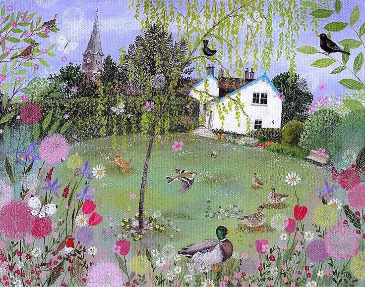 Lucy Grossmith...so much detail,so much colour