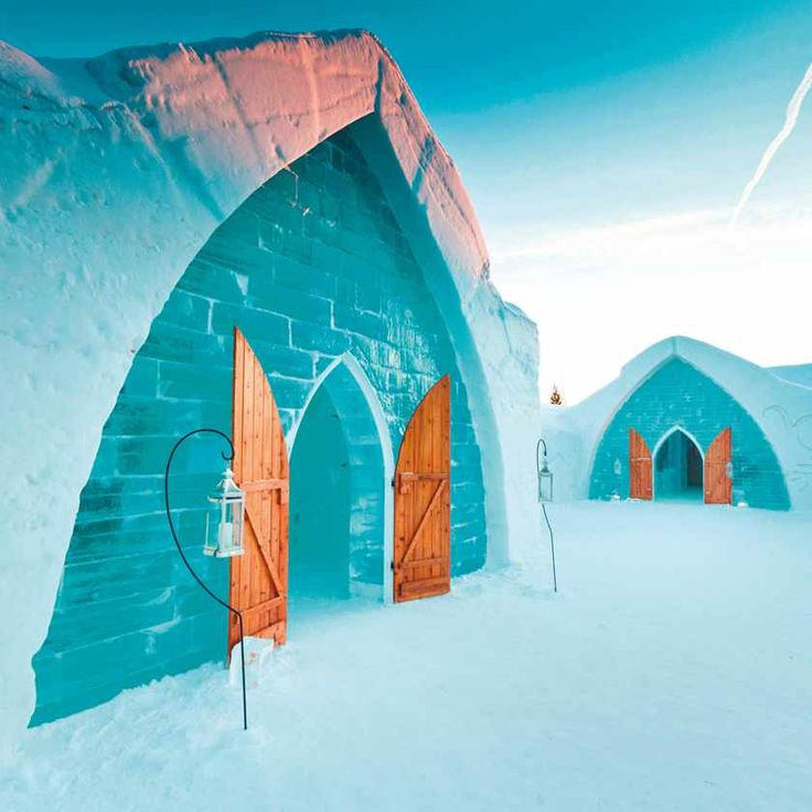 Ice Hotel - not typically found in Montreal, but if you travel further north in Quebec, you'll find one of these every year during the winter months