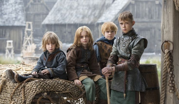 Ragnar Lothbrok's sons in season 4 of Vikings