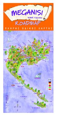 Meganisi: Illustrated Map