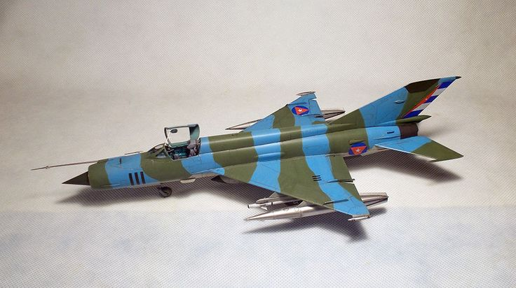 "Mikoyan-Gurevich MiG 21 R ""Fishbed"" BUILT 1/48 #EduardPEEduardinteriorset"