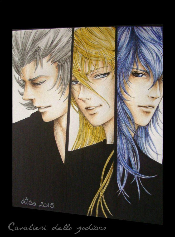 Gold saints black