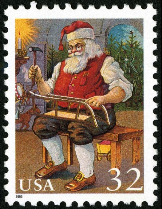 Merry Christmas from World Stamp Show-NY 2016! May Santa bring all your favorite toys.