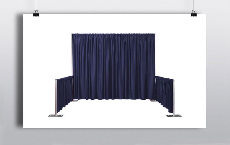 Pipe & Drape is a very simple & inexpensive way to transform a venue. It can also serve the purpose of hiding unsightly fixtures & fitting or creating temporary room dividers. Here at Prophouse we stock a variety of coloured pipe & drape systems including white, black, red, blue & checkered. http://www.prophouse.ie/portfolio/pipe-drape-royal-blue/