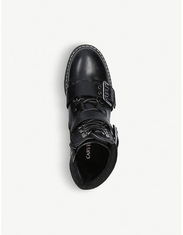 Carvela Saunter leather hiking boots