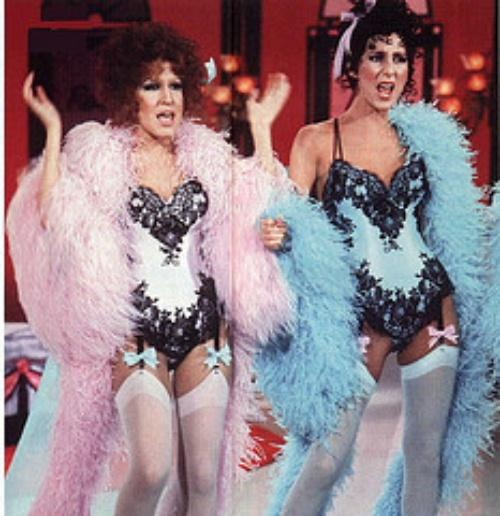 Bette Midler and Cher