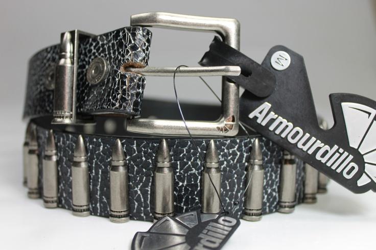 MEN'S BELT $19 ARMOURDILLO 'Silver Bullet Holster'  ebats11.com
