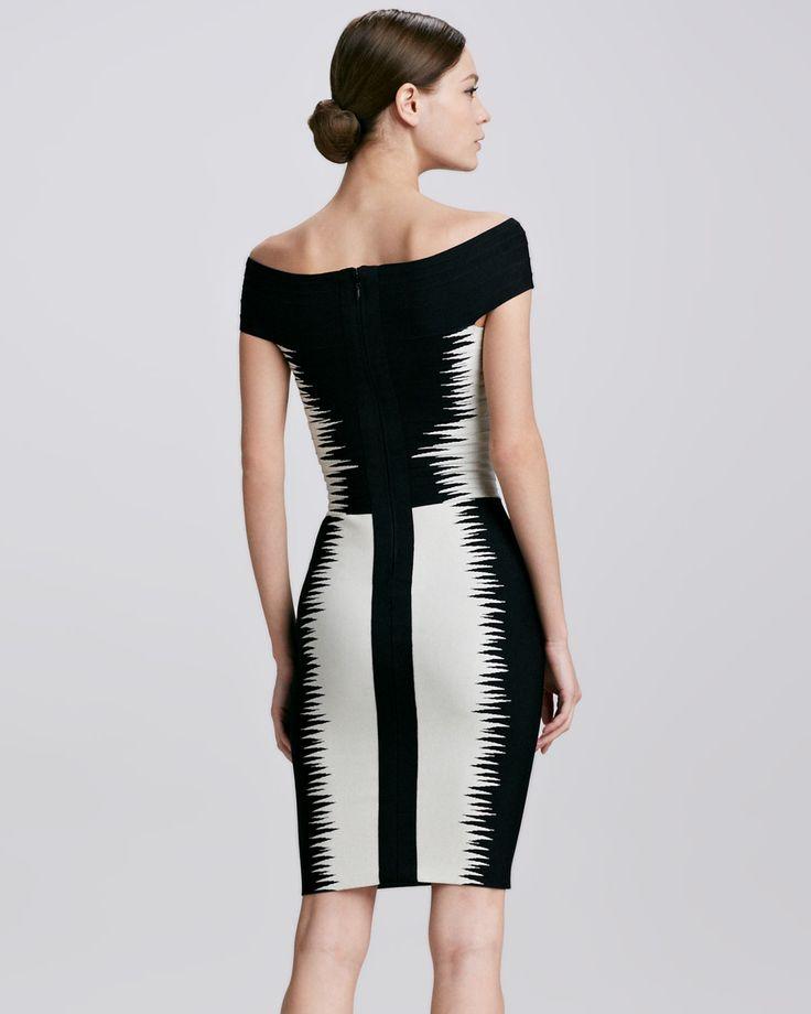 Платья черно белые