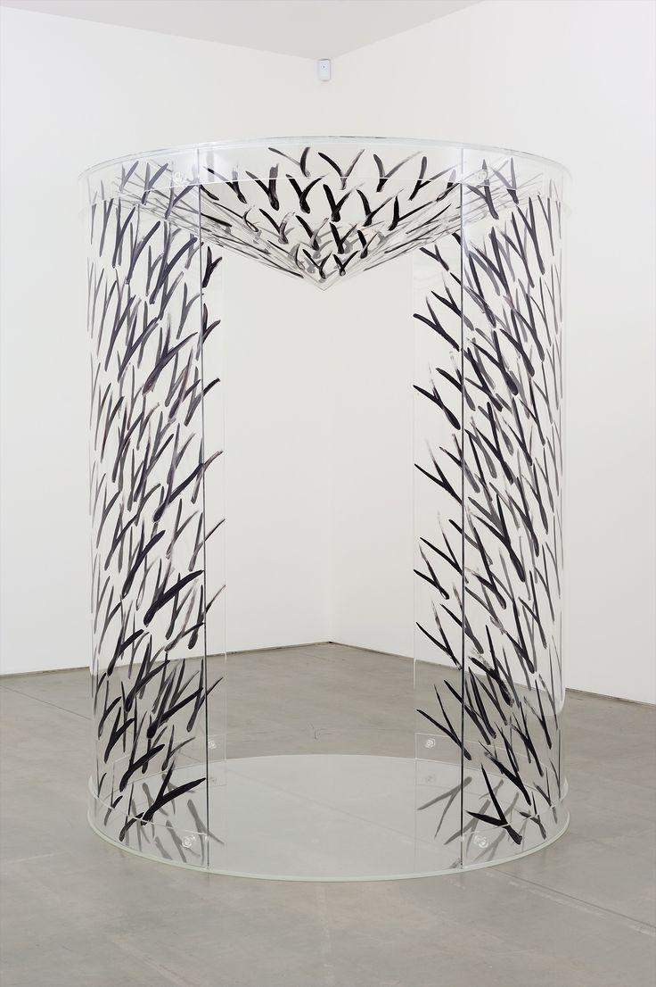 Carla Accardi CILINDRO-CONO , 2013 Paint on perspex