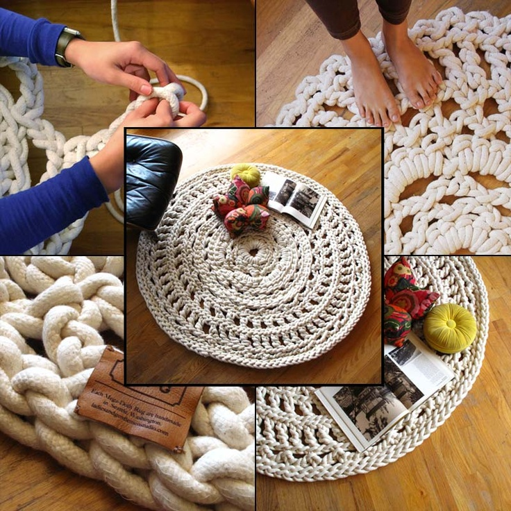 198 Best Images About Rag Rugs And Baskets On Pinterest