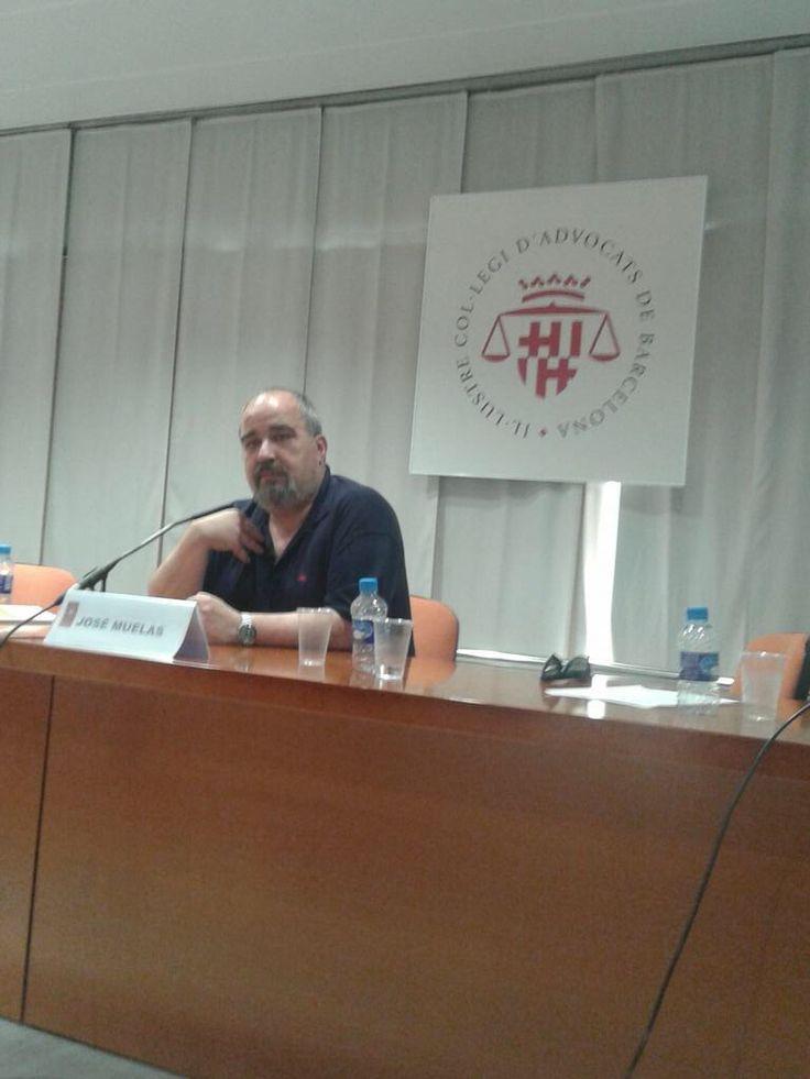 Conferencia para nuevos concejales en el Colegio de Abogados de Barcelona