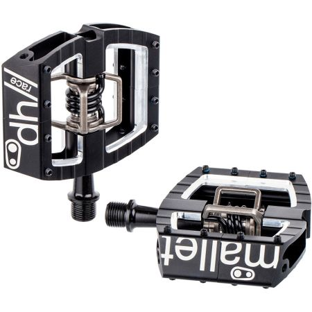 Crank Brothers Mallet DH Race Downhill Pedals Black Mountain Bicycle Bike MTB