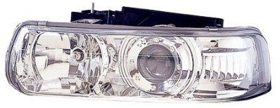 chevrolet tahoe headlight action crash gm2505108 Brand:Action Crash Part Number: chetahoe/GM2505108 Category:Headlight Condition:New Price:167.88 Shipping:free(ground) Warranty:2years Description: PERFORMANCE HEADLAMP SET, CHROME, PROJECTOR DESIGN, HLAMP SET;CHR;99-02 SILVERADO, PROJECTOR TYPE;00-06 TAH/SUB