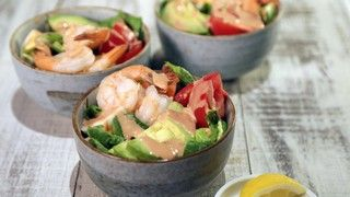 This sauce is i\incredible with hard boiled eggs.  Shrimp Louie Salad Recipe | The Chew - ABC.com