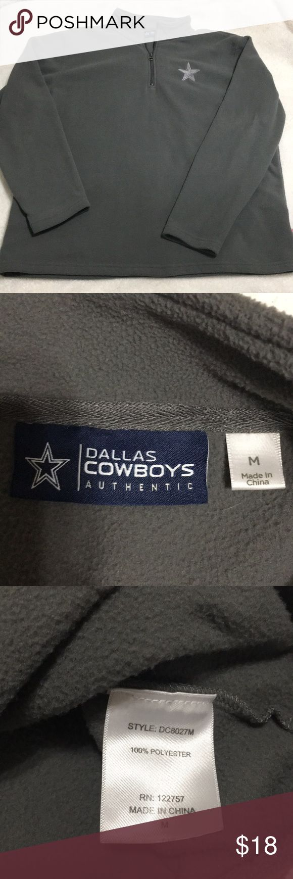 I just added this listing on Poshmark: Dallas Cowboys Half-zip. #shopmycloset #poshmark #fashion #shopping #style #forsale #Dallas Cowboys #Other