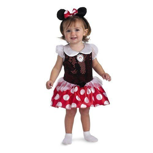 Minnie Mouse Infant Toddler Halloween Costume, 12-18 Months