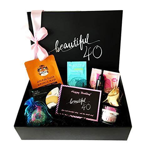 Geschenk zum 40. Geburtstag, Birthday Beauty Box