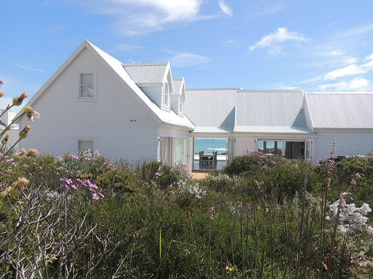West Coast, South Africa. Beach cottage. White Perfection in design.