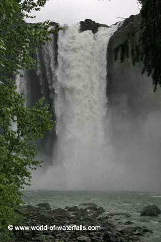 Snoqualmie Falls (near Seattle / Issaquah, Washington, USA)