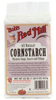 Non GMO Corn Starch. Bob's Red Mill Corn Starch
