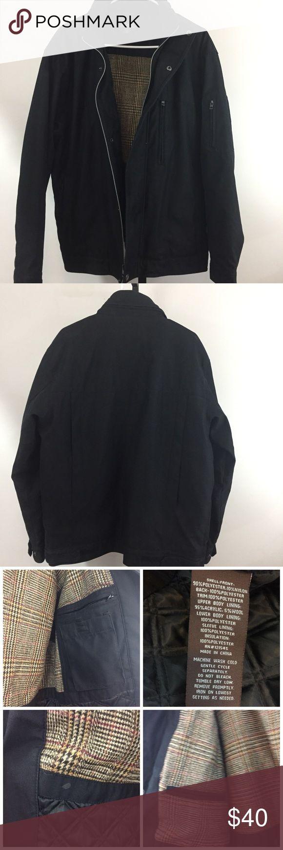 Michael Kors Men's Jacket Medium Good used condition  A few light spots. Pictured  Hood folds up into collar Size medium  Bin U Michael Kors Jackets & Coats