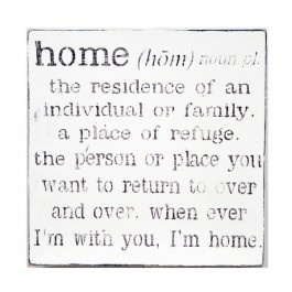 Home is where your heart is....to all my children, you are HOME for me!!