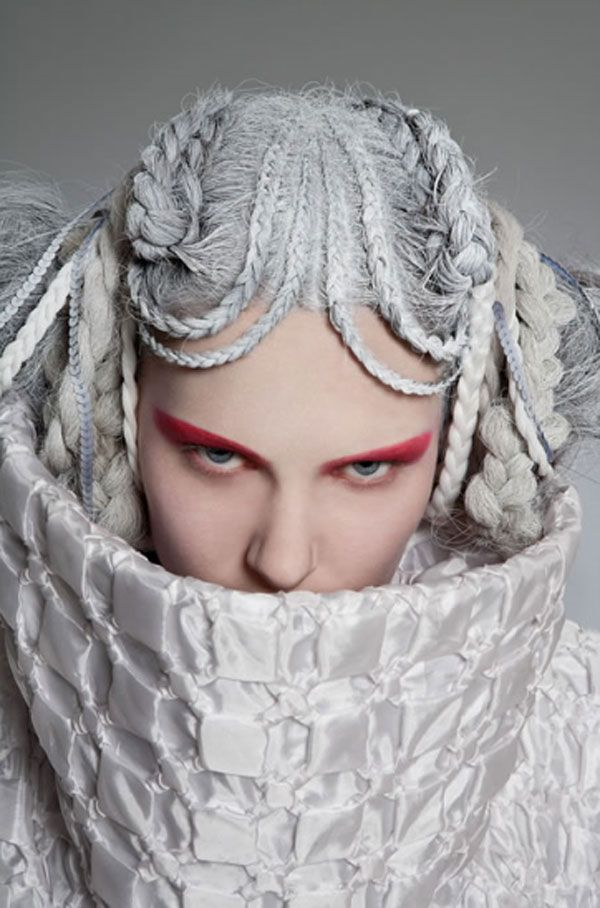 272 best images about hair news network avant garde and for Haute hairie