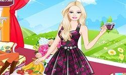 Barbie Çay Partisinde Oyunu