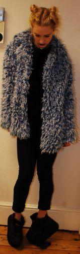 jacket, coat, vintage, 90s, fluffy, fur, rave, spice girl, techno, cyber, winter