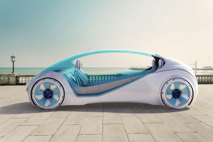 3D Printed Car Printed in 84 individual sections