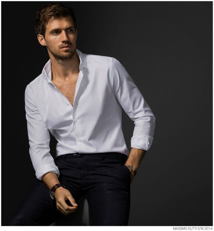 Andrew Cooper Models Limited Edition Styles from Massimo Dutti Fall 2014 5th Avenue Collection image Massimo Dutti Fall Winter 2014 NYC 5th Ave Collection 009 800x864